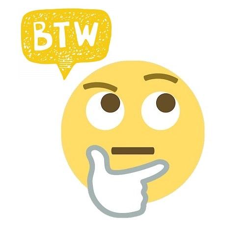 Qué Significa Btw Definición Significado De Btw